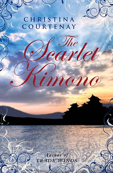 "Book Review | ""The Scarlet Kimono"" (Book One of the Kumashiro Series) by Christina Courtenay via #ChocLitSaturdays"