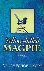 Yellow-billed Magpie by Nancy Schoellkopf