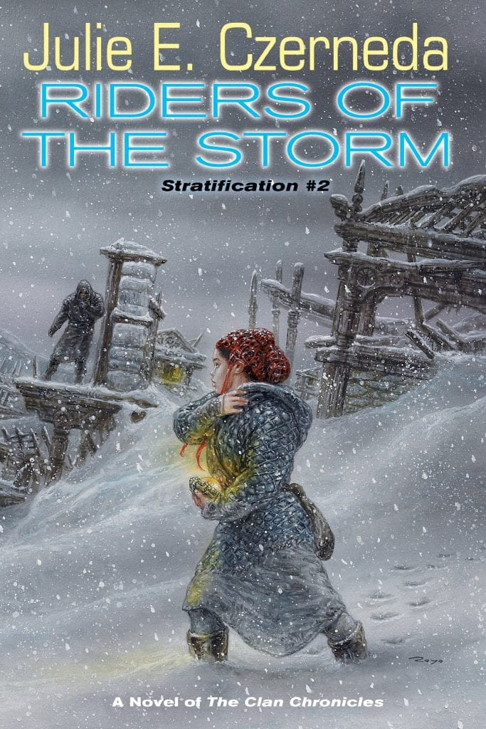 """Book Review   #whoaretheclan   """"Riders of the Storm"""" by Julie E. Czerneda Jorie reads #TheClanChronicles for #RRSciFiMonth!"""
