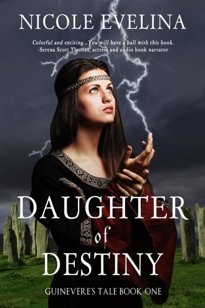 "Blog Book Tour | ""Daughter of Destiny: Guinevere's Tale No.1"" by Nicole Evelina"