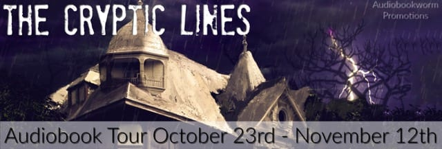 The Cyptic Lines blog tour via Audiobookworm Productions