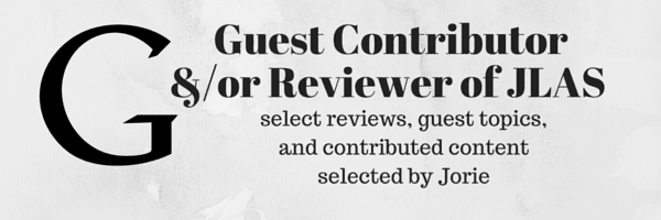 Guest Contributor and/or Reviewer of JLAS banner created by Jorie in Canva.