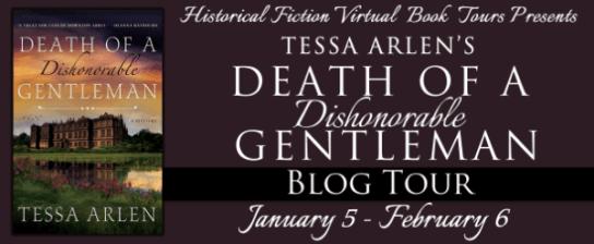 Death of a Dishonourable Gentleman blog tour via HFVBTs