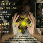 Shadow Shifts blog tour badge for stop on Jorie Loves A Story. Provided by the author J.M. Bogart.