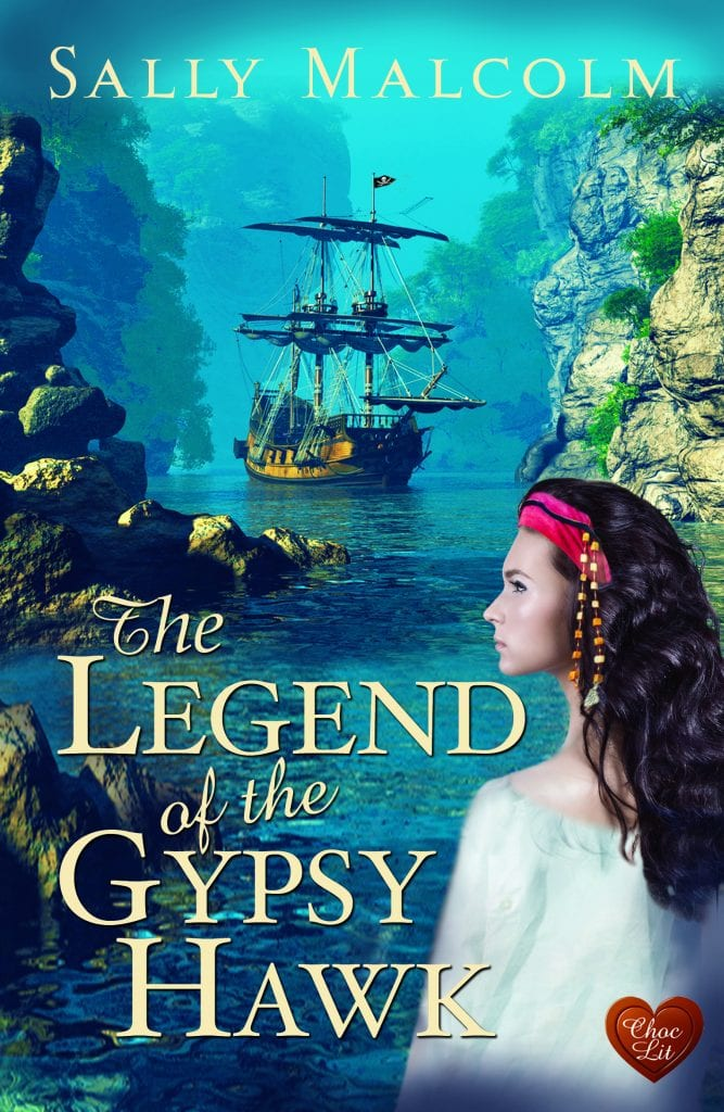 "Book Review | ""The Legend of the Gypsy Hawk"" (The Pirates of Ile Sainte Anne No.1) by Sally Malcolm #ChocLitSaturdays"