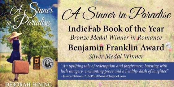 Awards Banner for A Sinner in Paradise by Light Messages Publishing.