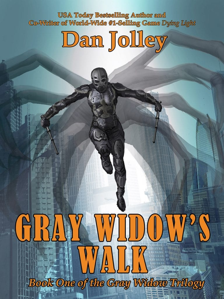"Blog Book Tour | ""Gray Widow's Walk"" (No.1 of Gray Widow Trilogy) by Dan Jolley Jorie reads her 2nd #SuperheroFiction novel!"