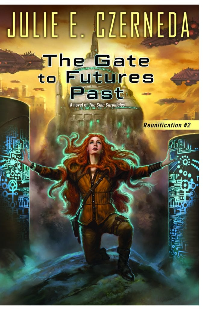 "Book Review | #whoaretheclan | ""The Gate to Futures Past"" (Book No.2 of the Reunification trilogy) by Julie E. Czerneda #FuellYourSciFi with Jorie!"