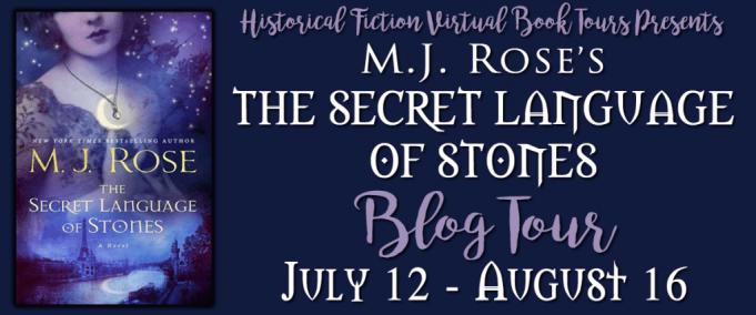 The Secret Language of Stones blog tour hosted by HFVBTs.