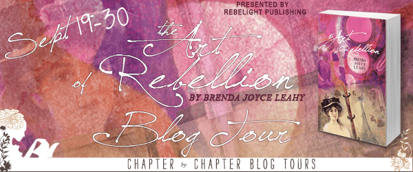 The Art of Rebellion blog tour via Chaper by Chapter Blog Tours