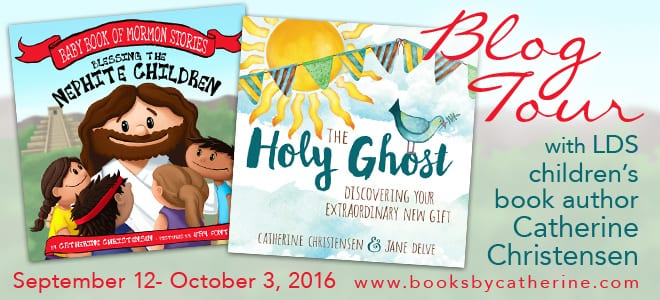 Catherine Christensen picture book blog tour via Cedar Fort Publishing & Media