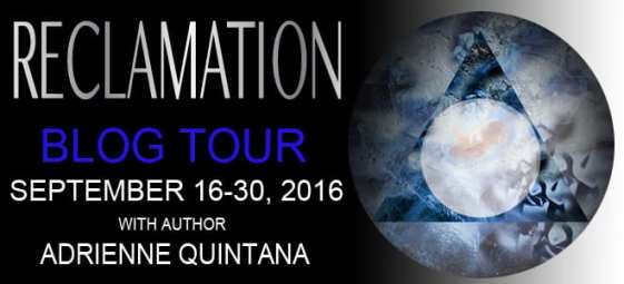 Reclamation blog tour via Pink Umbrella Books
