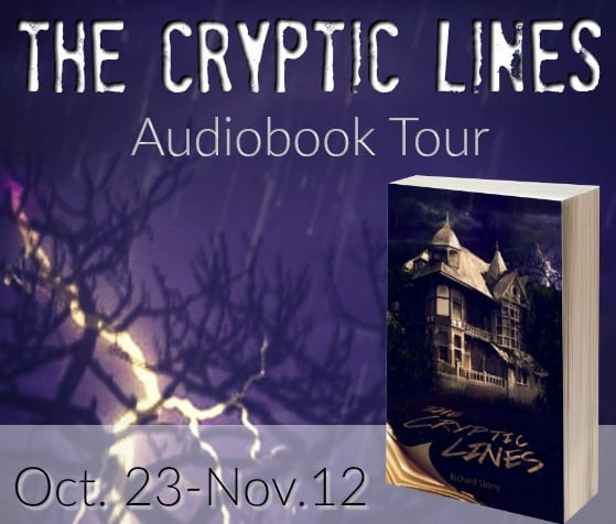The Cryptic Lines Audiobook Tour via Audiobookworm Promotions