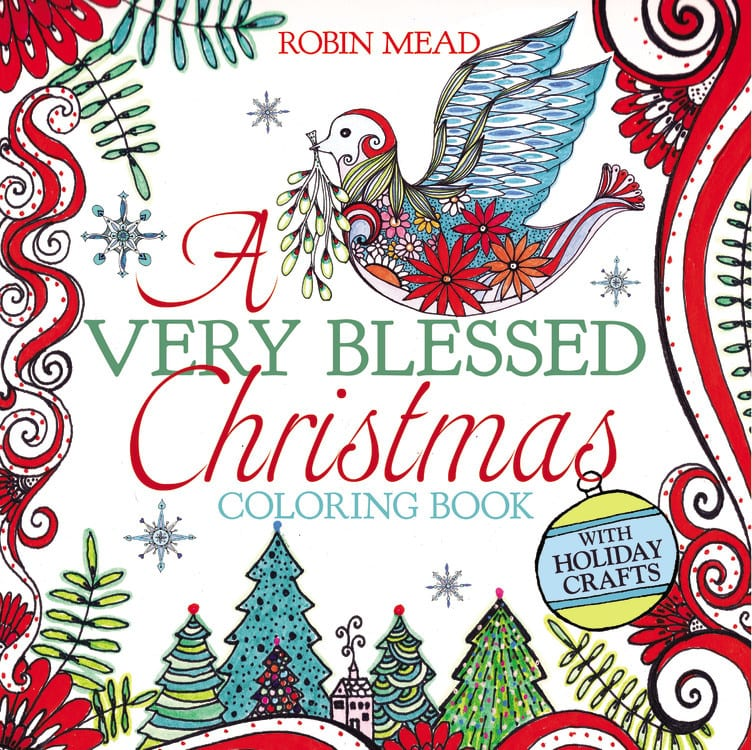 Colouring Book Review | Hachette's imprint FaithWords truly inspired me this #Christmas with two new releases: A Very Blessed Christmas & Christmas Quiet!