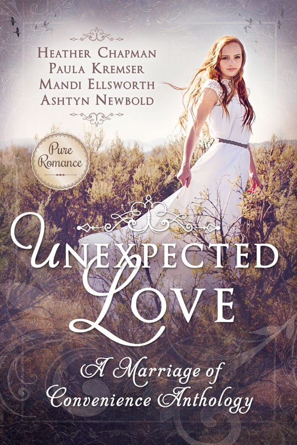 "Blog Book Tour | ""Unexpected Love: A Marriage of Convenience"" (anthology) feat. stories by Heather Chapman, Mandi Ellsworth, Paula Kremser and Ashtyn Newbold on the 'eve' of Jorie's 4th Blogoversary!"