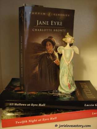 Jane Eyre & Luccia Gray's Eyre sequels. Book Photography Credit: Jorie of jorielovesastory.com.