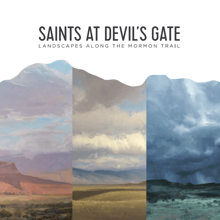 """Non-Fiction Book Review   """"Saints at Devil's Gate: Landscapes along the Mormon Trail"""" by Laura Allred Hurtado and Bryon C. Andreasen"""
