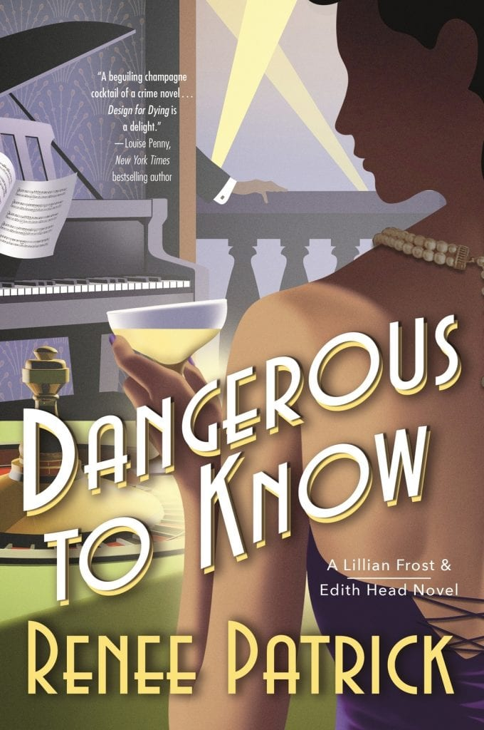 "Book Review & Q&A | ""Dangerous to Know"" (Book No.2 of the Lillian Frost & Edith Head novels) by Renee Patrick I am dearly addicted to this #ClassicHollywood world illuminated so brilliantly by the authors!"