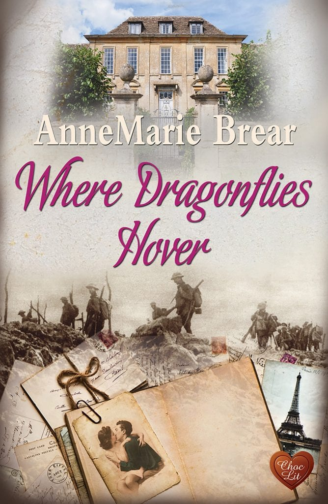 "Book Review | ""Where Dragonflies Hover"" by AnneMarie Brear #ChocLitSaturdays"