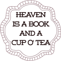 Tea and Book badge provided by Squeesome Designs and used with permission.