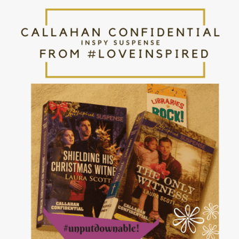 Callahan Confidential series by Laura Scott Photography Credit: Jorie of jorielovesastory.com. Photo edits and collage created in Canva.