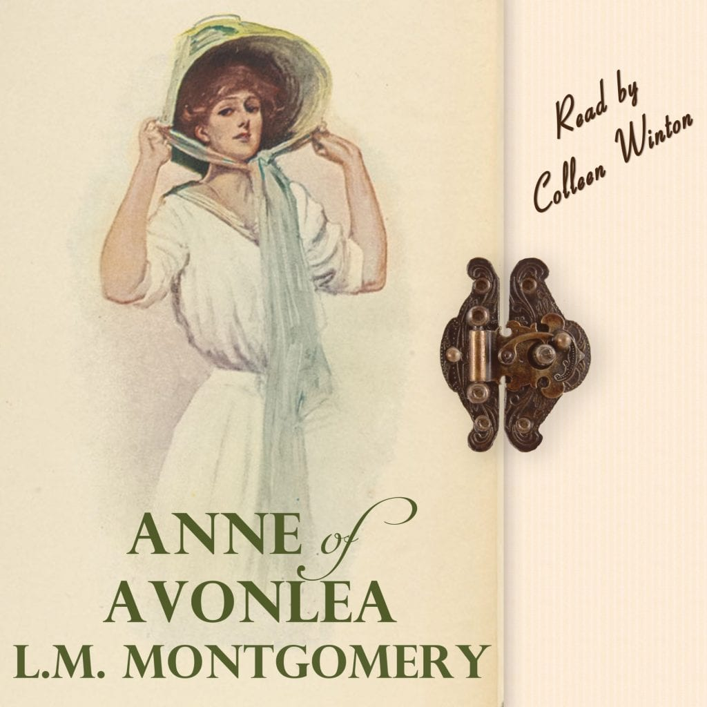 "Audiobook Blog Tour | ""Anne of Avonlea"" by L.M. Montgomery (narrated by Colleen Winton) published by Post Hypnotic Press!"