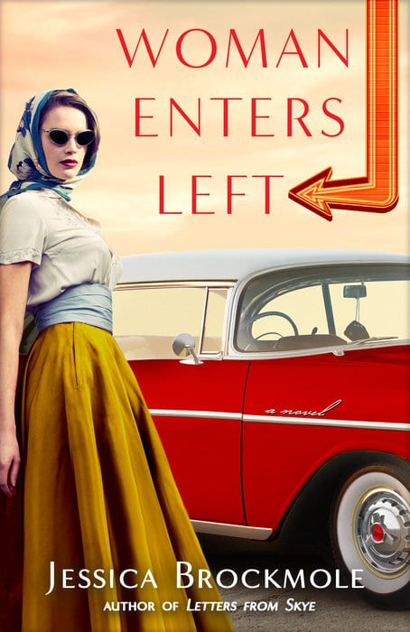 "Blog Book Tour | ""Woman Enters Left"" by Jessica Brockmole The novel which brings Jorie full-circle into the heart of #Epistolary Fiction by the author who penned Elspeth's story!"