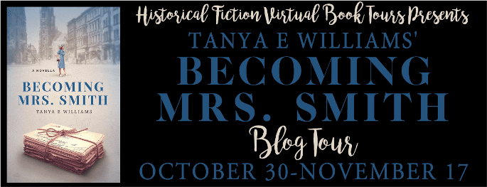 Becoming Mrs Smith blog tour via HFVBTs
