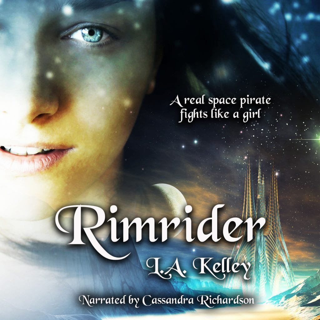 "#RRSciFiMonth Audiobook Review | ""Rimrider"" (Book One: Rimrider Adventures) by L.A. Kelley (narrated by Cassandra Richardson)"