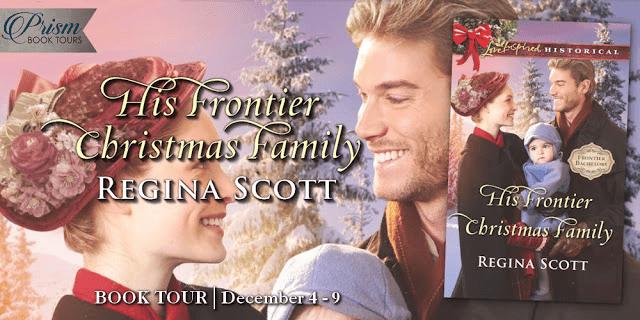 His Frontier Christmas blog tour via Prism Book Tours