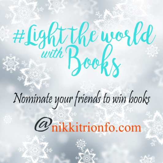 Light Up Your World With Books badge used with permission of Melanie Bateman.