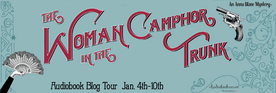 The Woman in the Camphor Trunk audiobook book tour via Audiobookworm Promotions