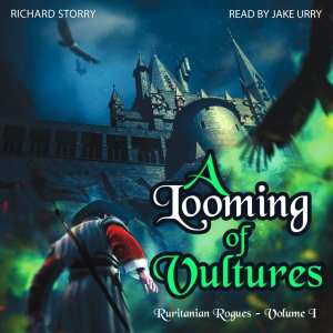 A Looming of Vultures by Richard Storry (audiobook)