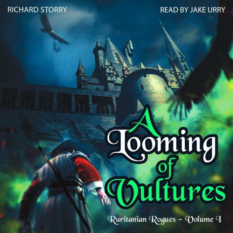 "Audiobook Review | ""A Looming of Vultures"" (Ruritanian Rogues series, No.1) by Richard Storry, narrated by Jake Urry (otherwise known as Jorie's favourite narrator of Suspense!)"