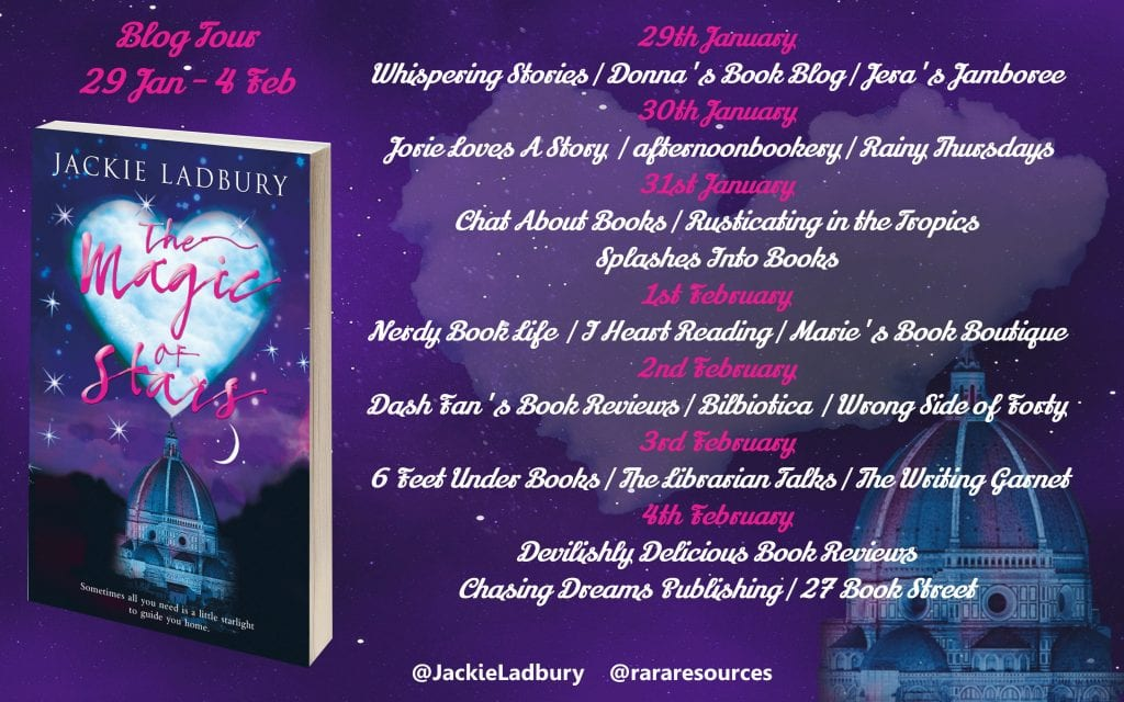 The Magic of Stars blog tour via Rachel's Random Resources