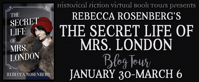 The Secret Life of Mrs London blog tour via HFVBTs