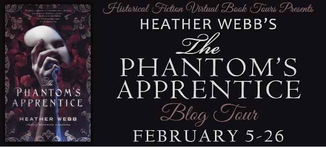 The Phantom's Apprentice blog tour via HFVBTs