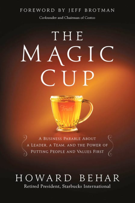 "#Sponsored by Center Street (Publisher) | #WyrdAndWonder Book Review  | ""The Magic Cup"" by Howard Behar An unexpected fantastical world percolating through a narrative speaking about the ethics of the world of business!"