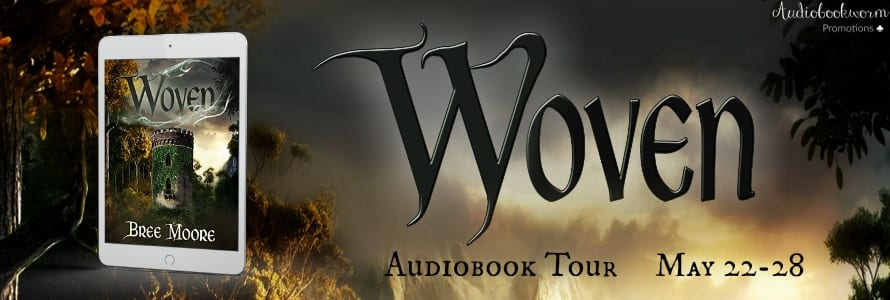 Woven audiobook blog tour by Audiobookworm Promotions