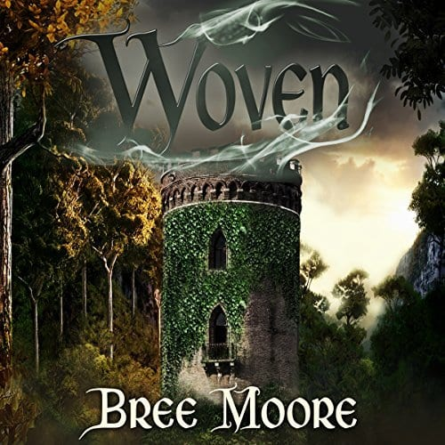 "#WyrdAndWonder Audiobook Spotlight | ""Woven"" by Bree Moore, narrated by Rebecca McKernan"