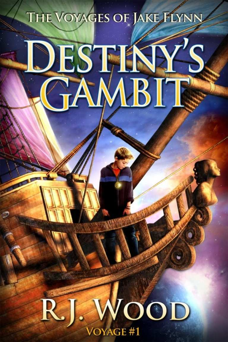"Blog Book Tour | ""Destiny's Gambit"" (Book One: The Voyages of Jake Flynn) by R.J. Wood"