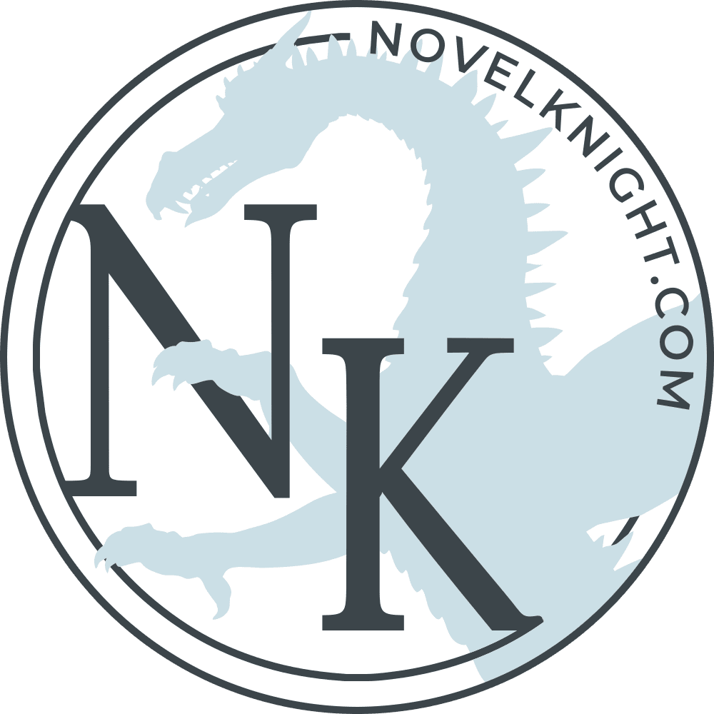 Novel Knight badge provided by the blogger Novel Knight and is used with permission.