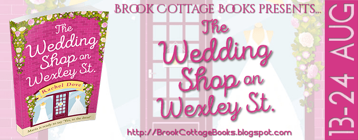The Wedding Shop on Wexley Street blog tour via Brook Cottage Books