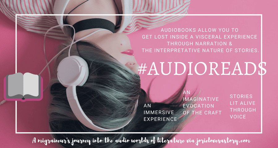 #AudioReads banner created by Jorie in Canva. Unsplash Photography (Creative Commons Zero) Photo Credit: Alice Moore