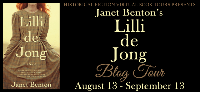 Lilli de Jong blog tour via HFVBTs
