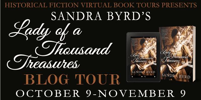 Lady of a Thousand Treasures blog tour via HFVBTs