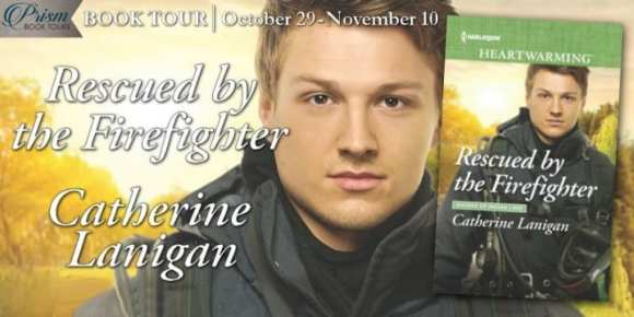 Rescued by the Firefighter blog tour via Prism Book Tours