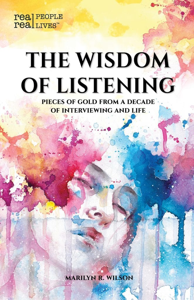 "Non-Fiction Book Review | ""The Wisdom of Listening"" (#RealPeopleRealLives) by Marilyn R. Wilson"