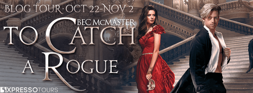 To Catch A Rogue blog tour hosted by Xpresso Book Tours