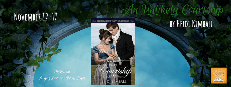 An Unlikely Courtship blog tour via SLB Tours